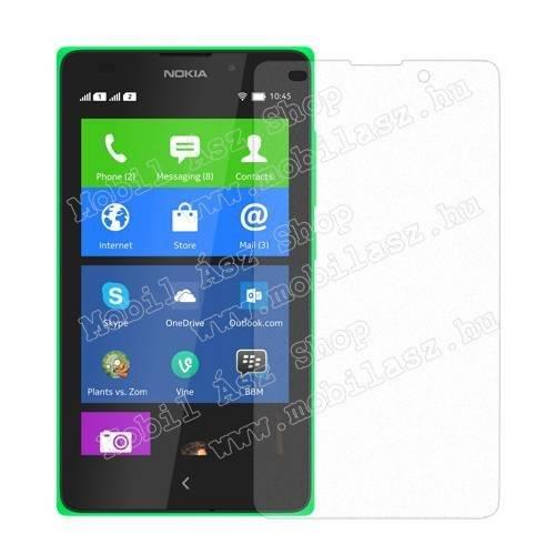 Képernyővédő fólia - Anti-Glare - MATT! - 1db, törlőkendővel - NOKIA XL