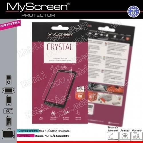 Képernyővédő fólia törlőkendővel (1 db-os) CRYSTAL - ALCATEL Pixi 3 (8) 3G - 9005X