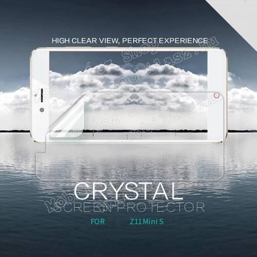 NILLKIN képernyővédő fólia - Crystal Clear - 1db, törlőkendővel - ZTE nubia Z11 mini S - GYÁRI