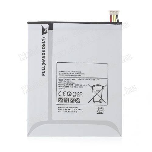 SAMSUNG SM-T350 Galaxy Tab A 8.0 akkumulátor - 4200mAh Li-ION - (EB-BT355FBE utángyártott)