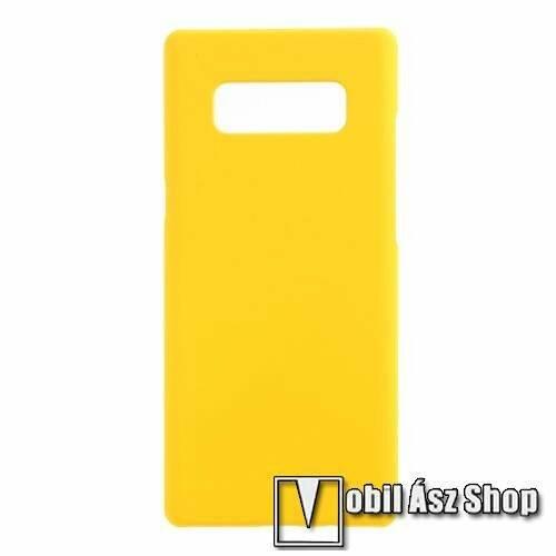 Műanyag védő tok / hátlap - SÁRGA - Hybrid Protector - SAMSUNG SM-N950F Galaxy Note8
