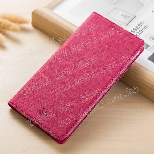 VILI DMX SLIM DESIGN notesz / mappa tok - RÓZSASZÍN - oldalra nyíló flip cover, asztali tartó funkció, mágneses záródás - ASUS Zenfone 4 Pro (ZS551KL) - GYÁRI