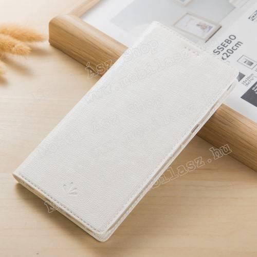 VILI DMX SLIM DESIGN notesz / mappa tok - FEHÉR - oldalra nyíló flip cover, asztali tartó funkció, mágneses záródás - ASUS Zenfone 4 Pro (ZS551KL) - GYÁRI