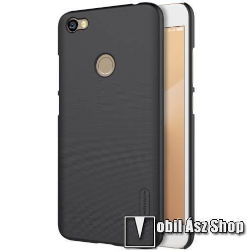 NILLKIN műanyag védő tok / hátlap - FEKETE - képernyővédő fólia - Xiaomi Redmi Note 5A Prime / Xiaomi Redmi Y1 - GYÁRI