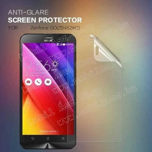 NILLKIN képernyővédő fólia - Anti Glare - 1db, törlőkendővel - ASUS Zenfone Go (ZB452KG) - GYÁRI