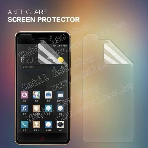 NILLKIN képernyővédő fólia - Anti Glare - 1db, törlőkendővel - ZTE nubia Z17 mini - GYÁRI