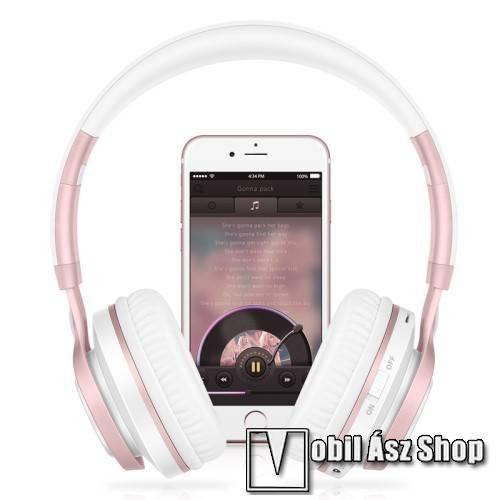 BT08 Vezeték nélküli Bluetooth fejhallgató - Beépített mikrofon 773fed2b5e