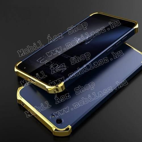 Műanyag védő tok / hátlap - ERŐS VÉDELEM! - KÉK / ARANY - Xiaomi Redmi Note 5A Prime / Xioami Redmi Y1