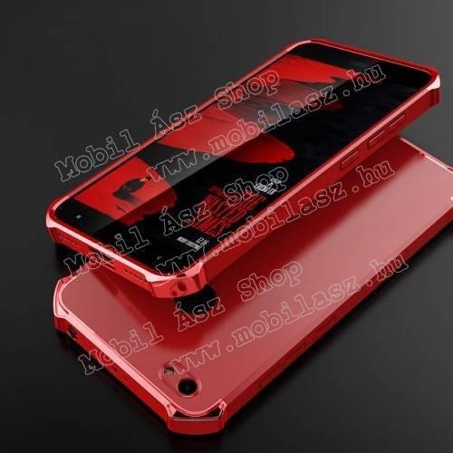 Műanyag védő tok / hátlap - ERŐS VÉDELEM! - PIROS - Xiaomi Redmi Note 5A Prime / Xioami Redmi Y1