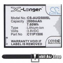 Akku 2000 mAh LI-ION - C11P1506 kompatibilis - ASUS Zenfone Go (ZC500TG / Z00VD)