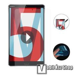ENKAY Clear Soft Nano képernyővédő fólia - Clear - 1db, törlőkendővel, teljes képernyőre, Explosion-proof - Huawei MediaPad M5 8.4 - GYÁRI
