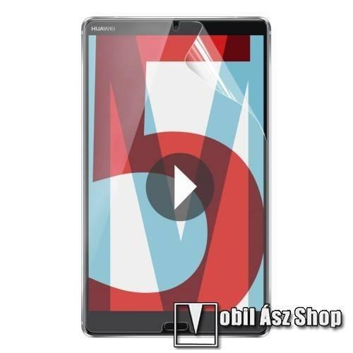 ENKAY HD PET képernyővédő fólia - Clear - 1db, törlőkendővel - Huawei MediaPad M5 8.4 - GYÁRI