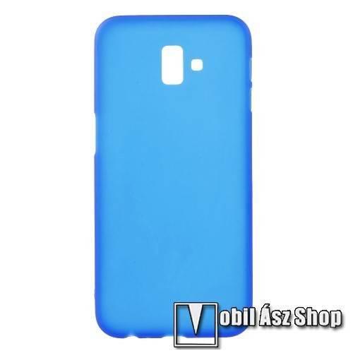 Szilikon védő tok / hátlap - FLEXI - KÉK - SAMSUNG SM-J610F Galaxy J6+