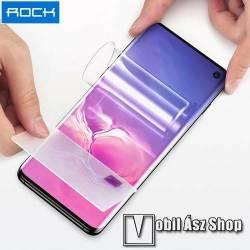 ROCK Hydrogel Protector képernyővédő fólia - 1 db, 0.18mm, A TELJES KIJELZŐT VÉDI! - SAMSUNG SM-G975F Galaxy S10+ - GYÁRI
