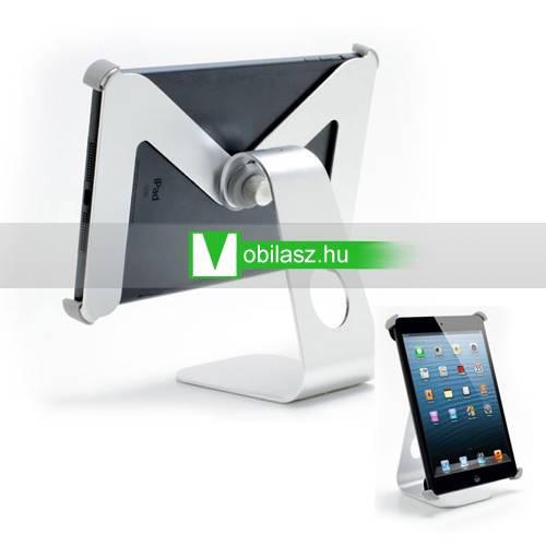 Alumínium asztali tartó állvány - 360°-ban forgatható - APPLE IPAD mini -  EZÜST 8918b3a8e5