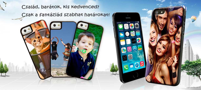 Egyedi mobiltelefon tokok, fényképes mobiltokok
