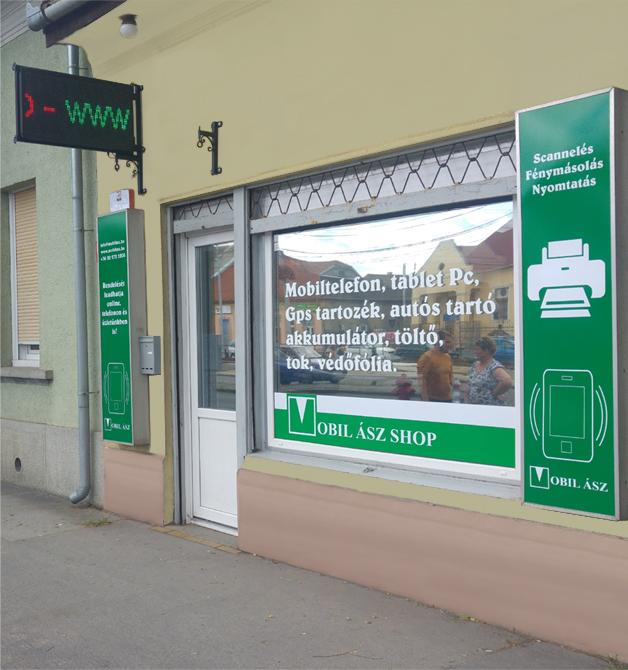 Mobil �sz Shop mobilszervizpont