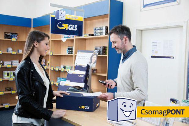 Mobil Ász Shop GLS csomagpontok már 800 helyen Magyarországon