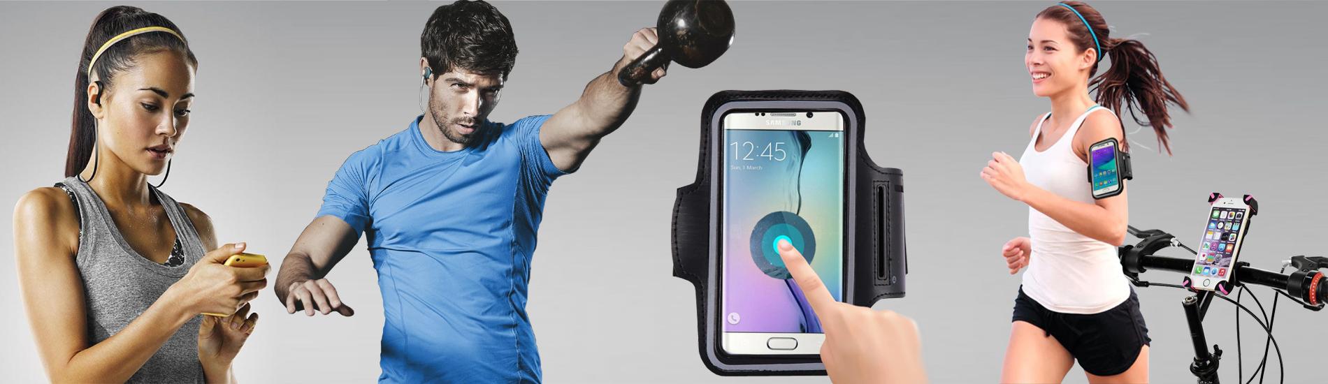 Mobiltelefon kiegészítők sportoláshoz, edzéshez, kerékpározáshoz