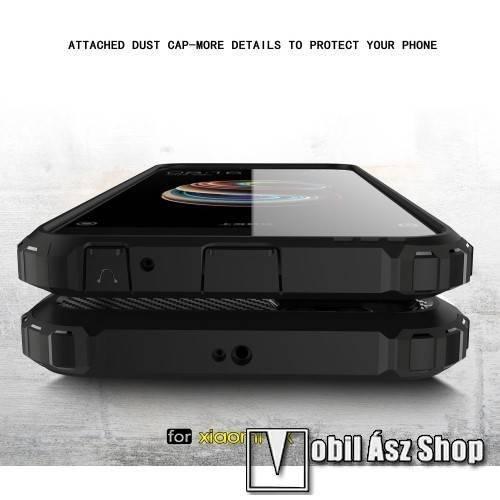 Többrétegű OTT! MAX Defender ütődés álló mobiltok magasított előlapi peremmel