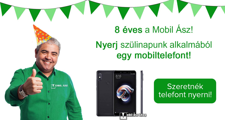 Nyerj mobiltelefont Tibi bácsitól a Mobil Ász Shop-ban!
