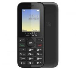 Alcatel OT-1066G/SL, Charcoal Black + Domino Fix Quick SIM